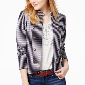 Tommy Hilfiger Jackets & Coats - Tommy Hilfiger Striped Sailor Blazer, from Macy's
